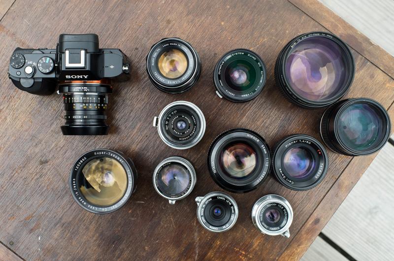 オールドレンズ フィルムカメラ