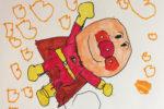 三歳児の描く絵・アンパンマンやドラえもんのイラスト